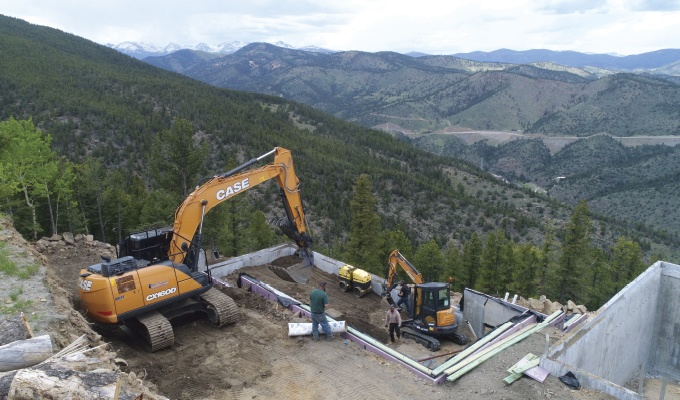 Solutions For Construction on a Steep Slope